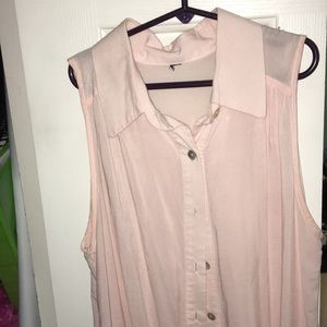 Tops - Light pink tank top size small